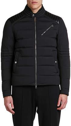 Moncler Men's Samalens Quilted Moto Jacket