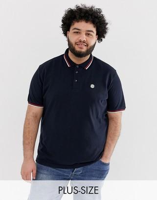 Le Breve Plus tipped polo shirt