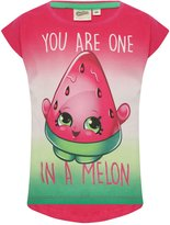 M&Co Shopkins one in a melon slogan t-shirt