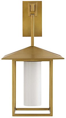 Arteriors Temple Sconce - Antique Brass - Ray Booth for