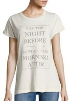 Wildfox Couture Worth It Graphic Tee