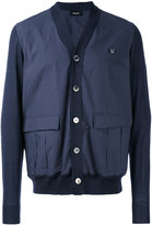Undercover knitted cardigan - men - Cotton/Wool - 2