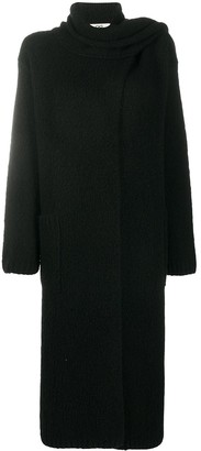 Sminfinity Long-Line Knitted Cardi-Coat