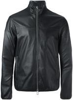Emporio Armani zip up biker jacket