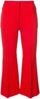 Tibi tailored cropped trousers - women - Polyamide/Spandex/Elastane/Rayon - 8