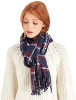 Sole Society Speckled Plaid Blanket Wrap