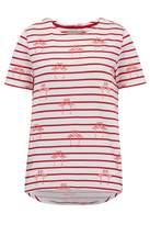 Sugarhill Boutique Flamingo Stripe Top