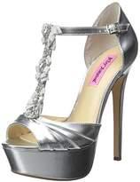 Betsey Johnson Women's Elizabeth Platform Dress Sandal,8 M US