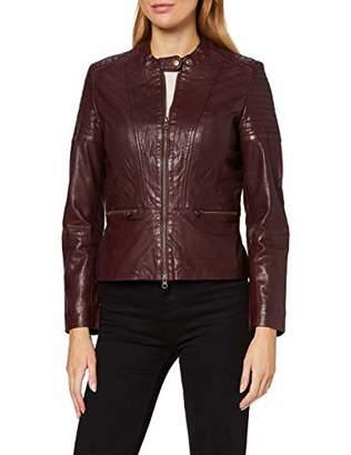 More & More Women's Lederjacke Von Jacket, (Size: )
