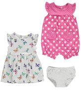 "Carter's Baby Girls' ""Butterflies & Dots"" Dress & Romper"