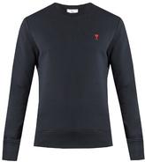 Ami de Coeur-embroidered sweatshirt