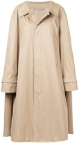 Nehera oversized trench coat with sleeve detail