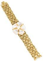 Chanel Mother of Pearl Camellia Bracelet