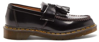 Comme des Garcons X Dr Martens Adrian Tasselled Leather Loafers - Womens - Black