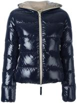 Duvetica zipped hooded jacket - women - Feather Down/Polyamide - 44