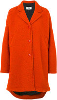 MM6 MAISON MARGIELA oversized coat - women - Polyester/Viscose/Virgin Wool - 42