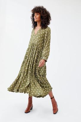 Sister Jane Envy Tiered Ruffle Maxi Dress