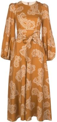 Zimmermann Paisley Print Shirt Dress
