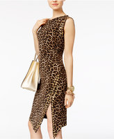 MICHAEL Michael Kors Animal-Print Sheath Dress, A Macy's Exclusive Style