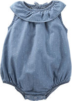 Osh Kosh Oshkosh Sleeveless Denim Sunsuit - Baby Girls newborn-24m