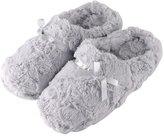 Tofern Slippers Second Skin Ultra Soft Comfy Fluffy Warm Satin Memory Foam Non Slip Sole Winter Women Ladies Kids Children Girls