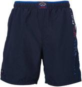 Paul & Shark logo swim shorts - men - Nylon/Polyester - S