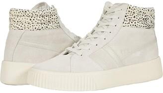 Gola Baseline Savanna (Off-White/Cheetah) Women's Shoes