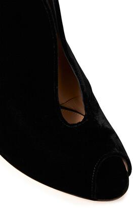 Gianvito Rossi Vamp 105 Velvet Ankle Boots