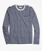 Brooks Brothers Long-Sleeve Sailor Stripe T-Shirt