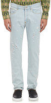 Givenchy Men's Distressed Jeans-LIGHT BLUE