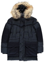 Moncler Bondider Down Jacket with Fur Hood
