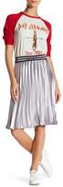 Angie Pleated Midi Skirt