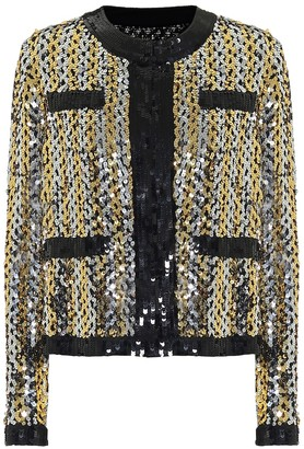 MSGM Sequined jacket