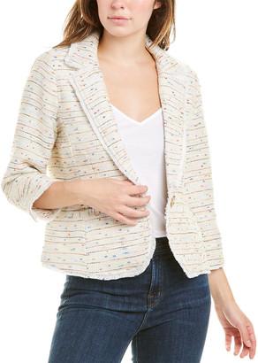 Ecru Multi-Tweed Blazer