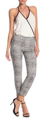 Amanda & Chelsea Printed Ponte Stretch Pants