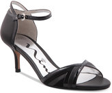Nina Originals Chantelle Kitten-Heel Dress Sandals