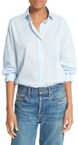 Vince Women's Easy Shirttail Cotton Shirt