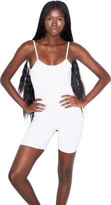 American Apparel Women's Cotton Spandex Sleeveless Singlet