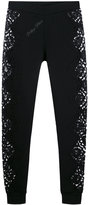 Philipp Plein Margo track pants - women - Cotton/Polyester - S