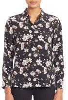 Equipment Leema Silk Floral-Print Shirt