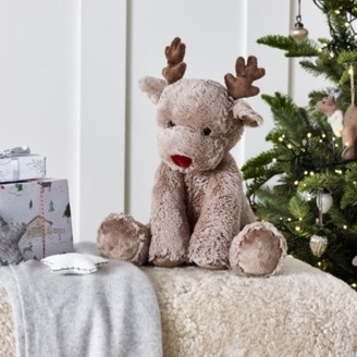 The White Company Jingles Reindeer Medium Toy, Natural, One Size