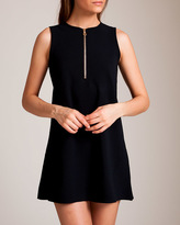 Karla Colletto Delphine Zip Front Dress