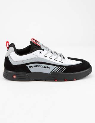 DC Legacy 98 Slim Black & White Mens Shoes