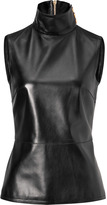 Ungaro Leather Front Top