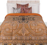 Etro Cinisi Quilted Bedspread - 270x270cm - Brown
