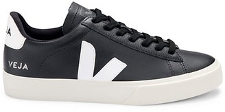 Veja Campo Leather Low-Top Sneakers