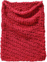 Joe Fresh Women's Cable Knit Snood, Red (Size O/S)