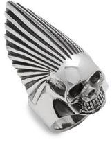 King Baby Studio Sterling Silver Skull Ring