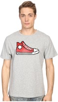 Mostly Heard Rarely Seen Red Hi-Top Sneaker Nanoblock Tee Men's T Shirt
