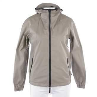 Gucci Grey Leather Jackets